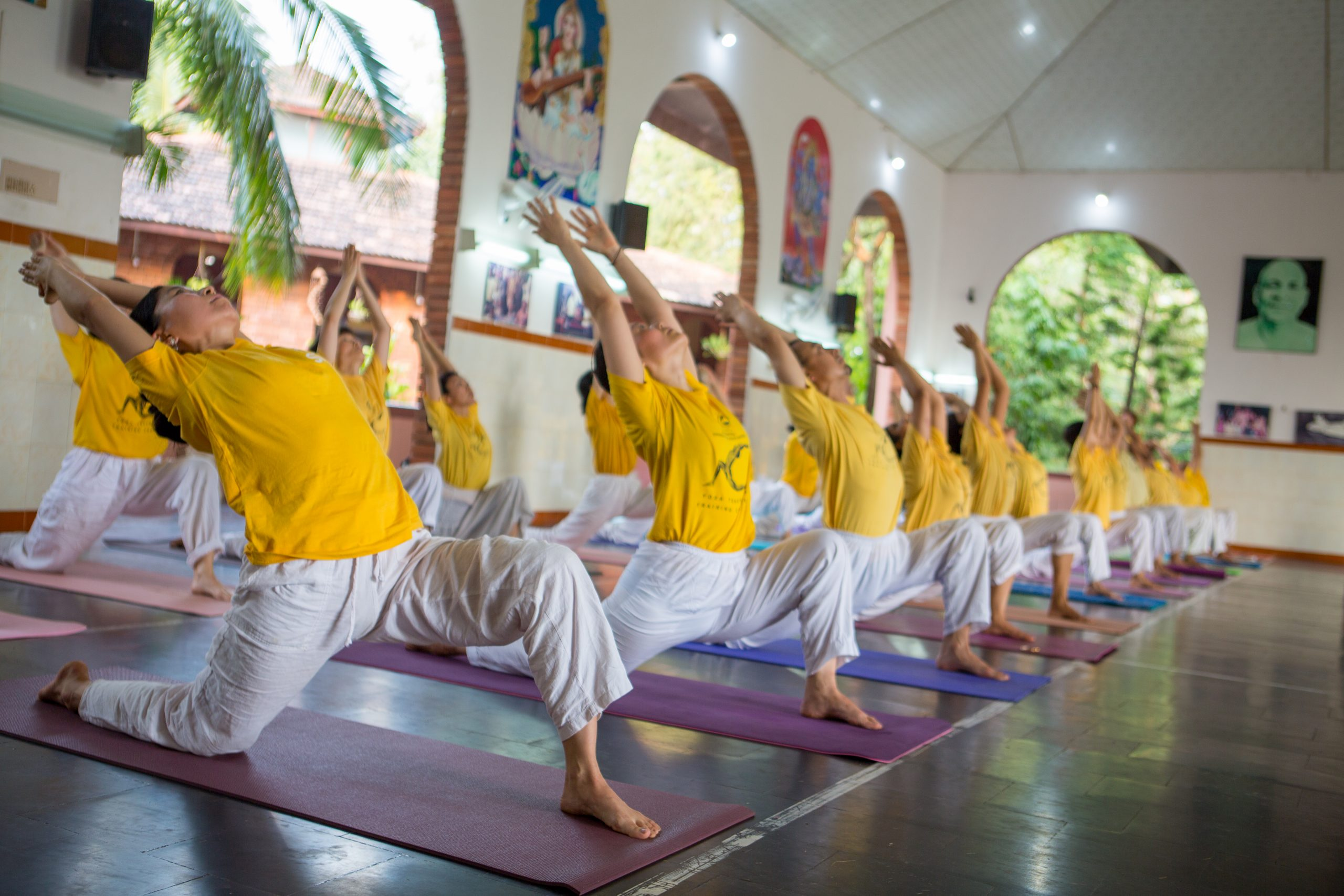 Teacher Training yoga class
